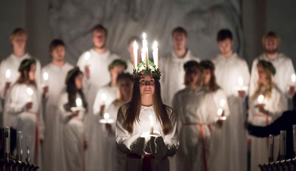 Sankta Lucia, Sankta Lucia – Christmas in Sweden, The Travel Bug Bite