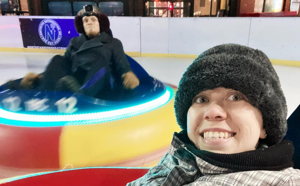 Ice Bumper Cars, Ice Bumper Cars: The Providence Rink, Rhode Island, The Travel Bug Bite