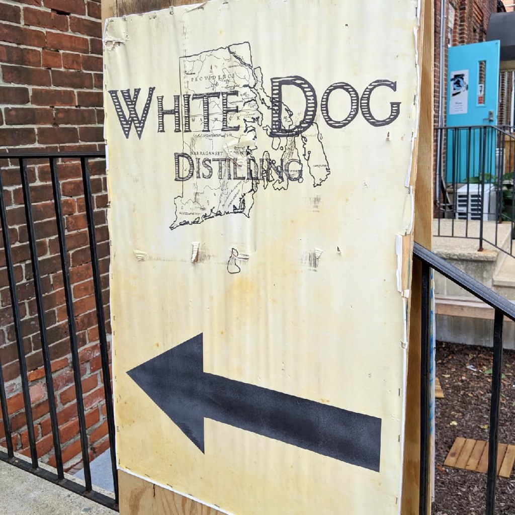 White Dog, White Dog Distillery's Moonshine Tasting, RI, The Travel Bug Bite