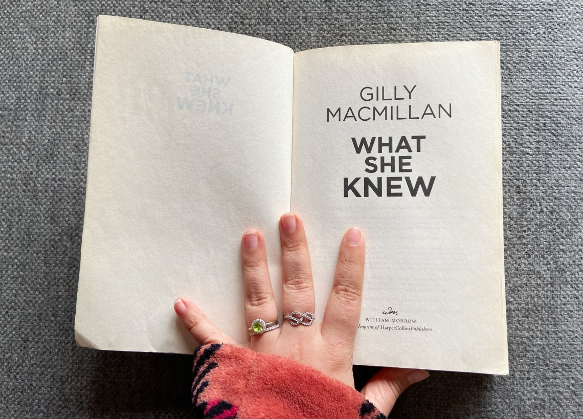 What She Knew, What She Knew by Gilly Macmillan: Book Review, Travel, Reviews, Bugs & More!