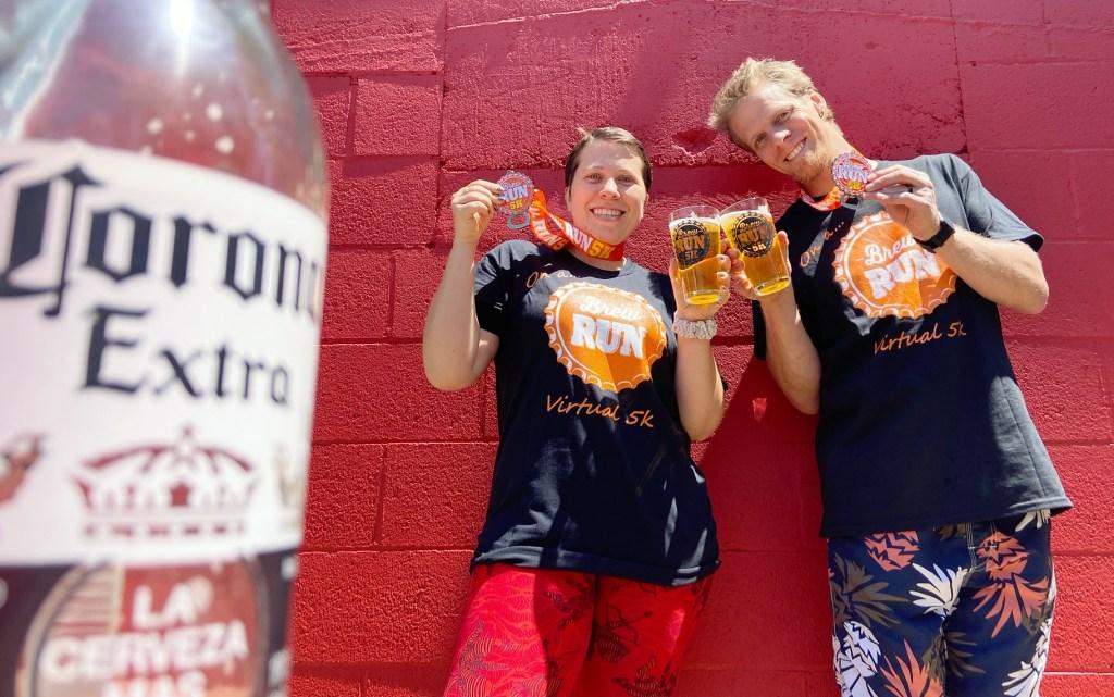 Virtual Brew Run, Virtual Brew Run 5k: Shirt, Glass & Medal for $25, The Travel Bug Bite