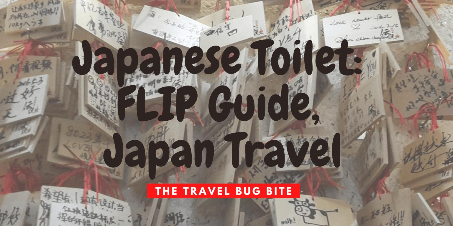 Japanese Toilet, Japanese Toilet: FLIP Guide, Japan Travel, Travel, Reviews, Bugs & More!