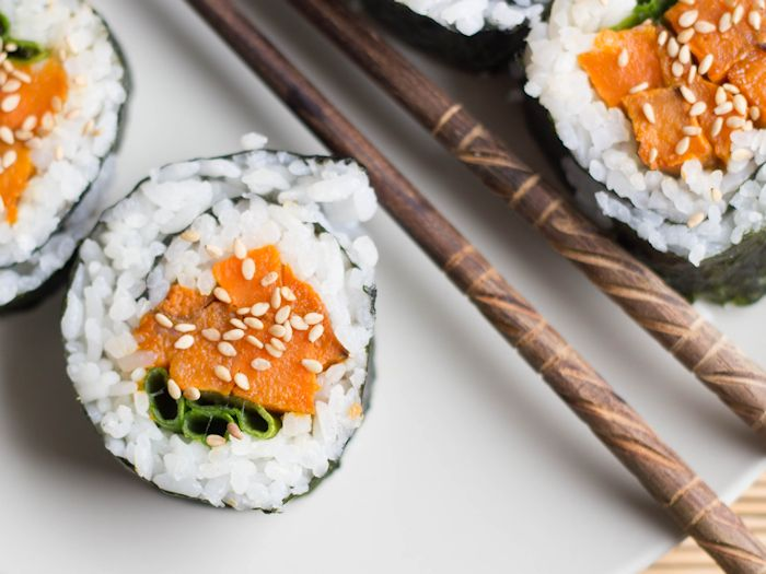Plant-Based Sushi, Plant-Based Sushi Options: Vegan Rolls, Nigiri & More, Travel, Reviews, Bugs & More!