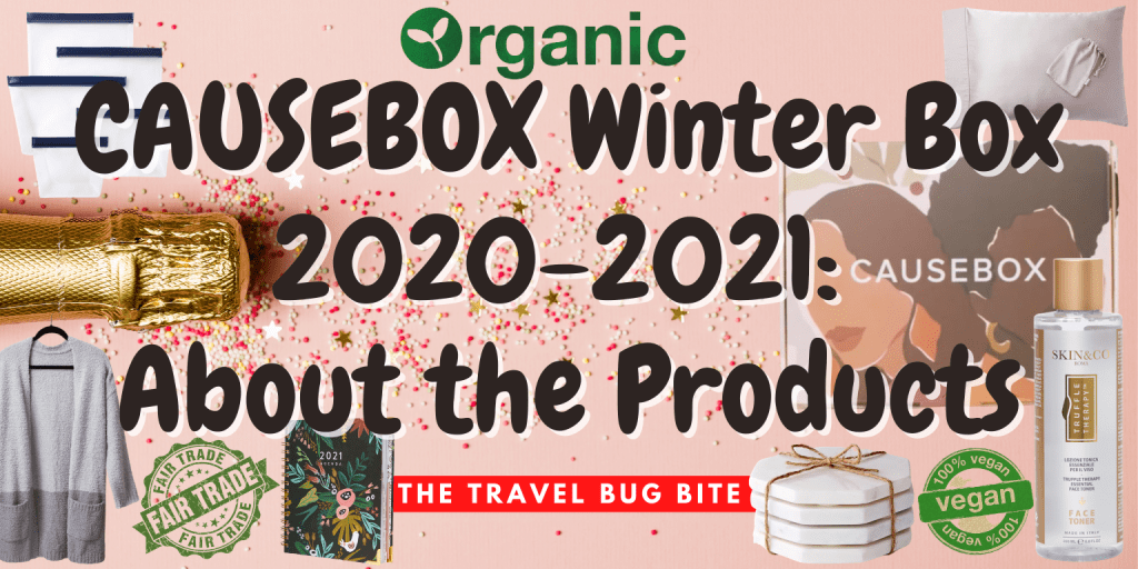 CAUSEBOX Winter Box, CAUSEBOX Winter Box 2020-2021: About the Products, The Travel Bug Bite