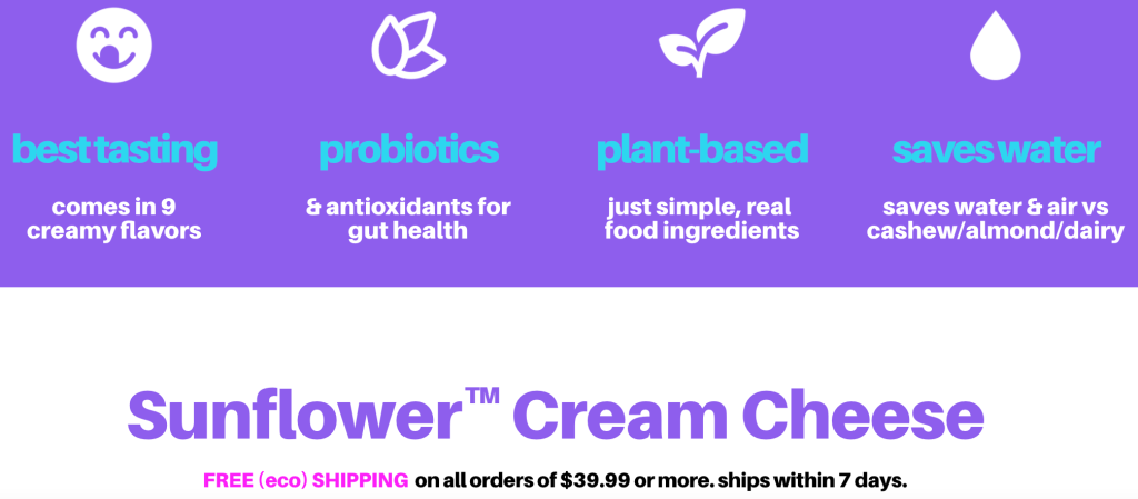 Spero Foods, Spero Foods: Eco-Friendly Vegan Sunflower Cream Cheese, The Travel Bug Bite