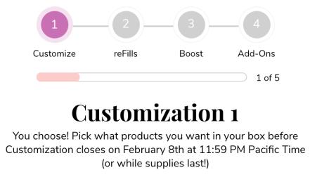 FabFitFun Spring Box Customization, FabFitFun Spring Box Customization & Add-Ons, The Travel Bug Bite
