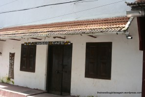 The popular Vasco cafe, Cochin(Kochi)