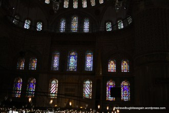 Stained glasswork, Blue Mosque