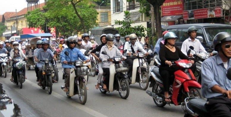 How Many Motorcycles in Ho Chi Minh City?