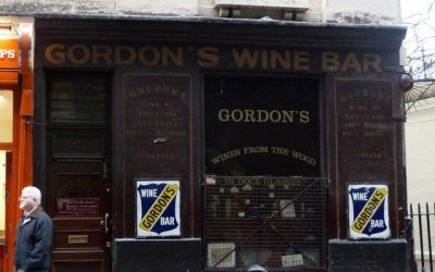 Gordon's – the Oldest Wine Bar in London