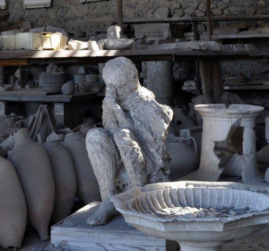 Body Cast at Pompeii