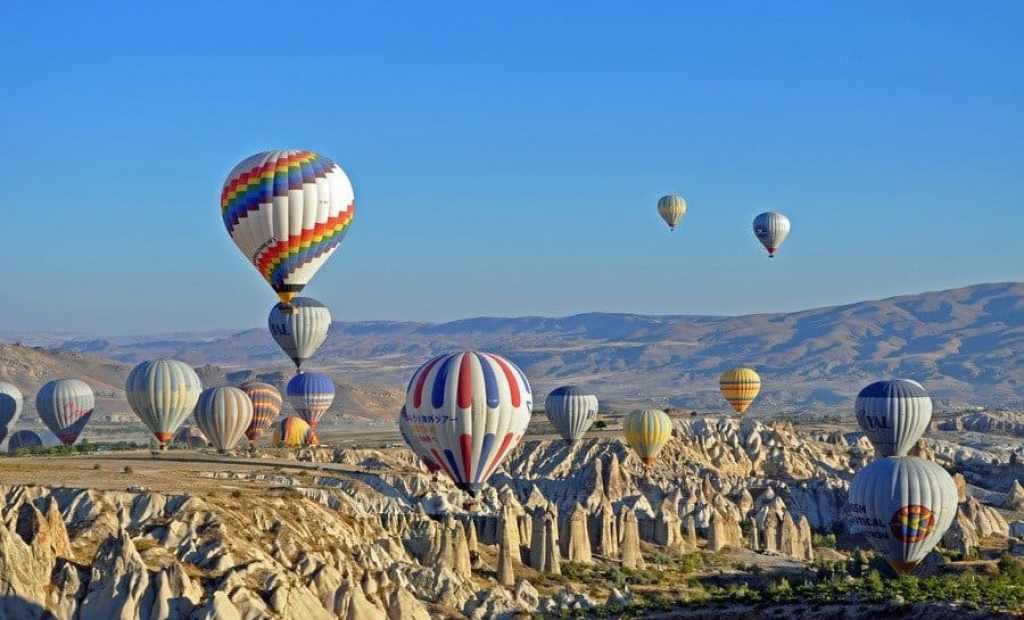 Ballooning, Cappadocia