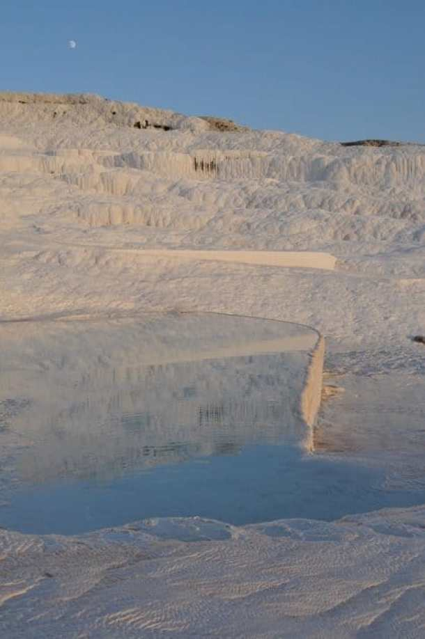 The travertines, Pamukkale