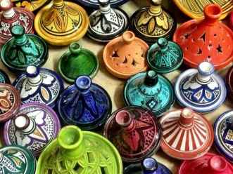 Mini Tagines in the Souk