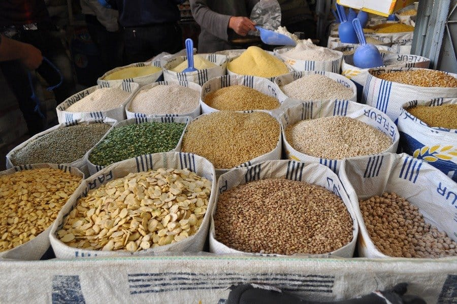 Seeds and nuts in Taroudant