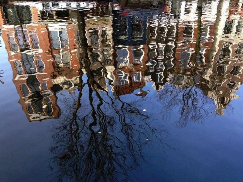 amsterdam-canal-reflections
