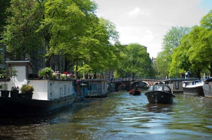 Houseboats on Prinsengracht