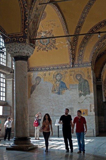 Deesis Mosaic, Hagia Sofia