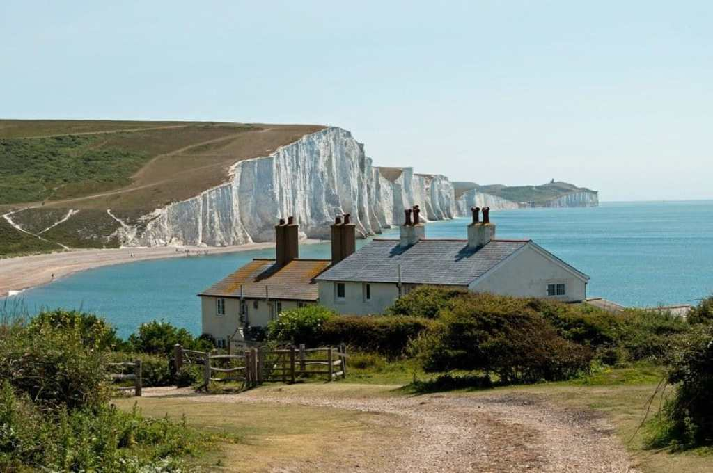 The Coastguard Cottages at Seven Sisters, East Sussex