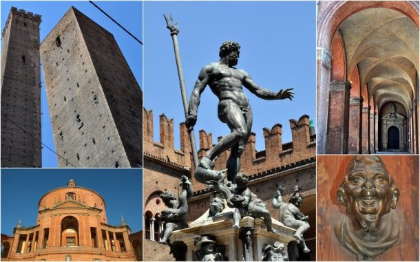 Features of Bologna, Italy