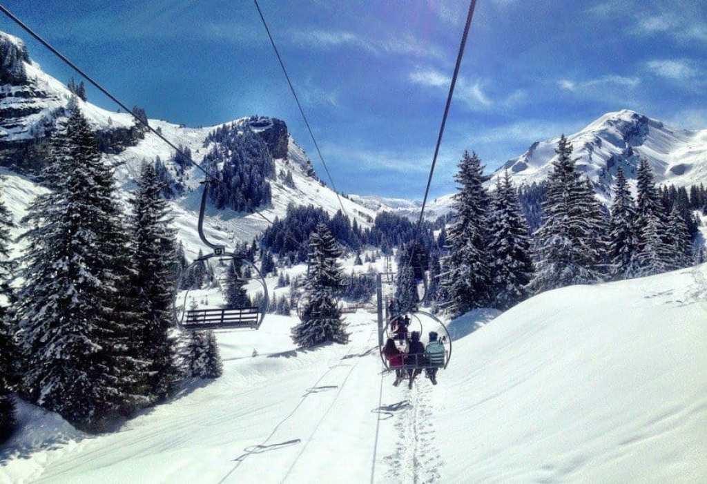 Ski Lift Portes du Soleil