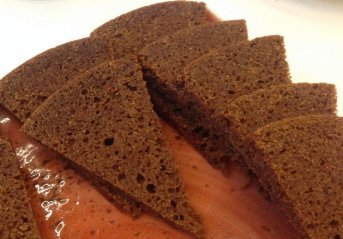 Geothermally Baked Rye Bread