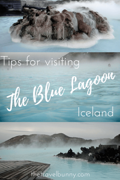 The steaming waters of Iceland's Blue Lagoon