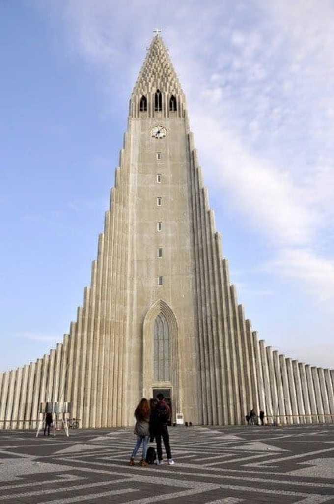 Church of Hallgrímur (Hallgrímskirkja) Iceland