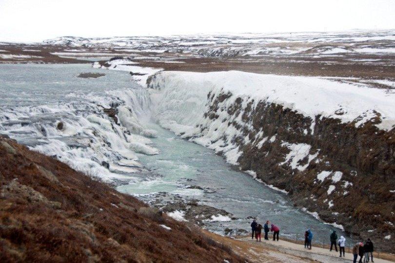 Gullfoss Waterfall, Iceland f