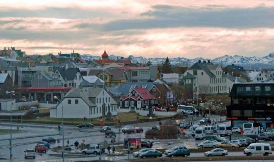 View of Reykjavik, Iceland from Harpa Tips for visiting Reykjavik