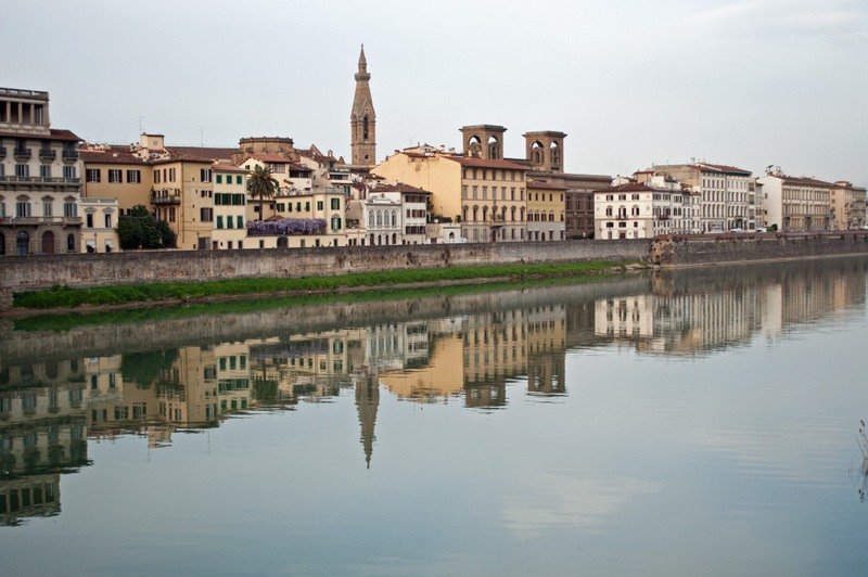 The River Arno, Florence