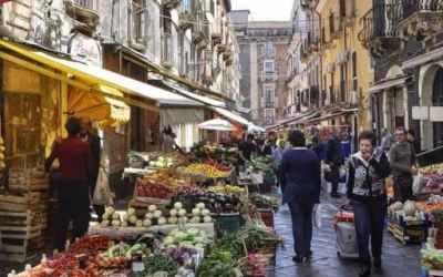 Catania Market and Pescheria, Sicily