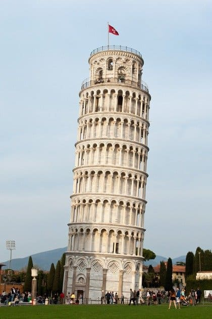 The leaning tower of pisa the travelbunny - Leaning tower of pisa ...