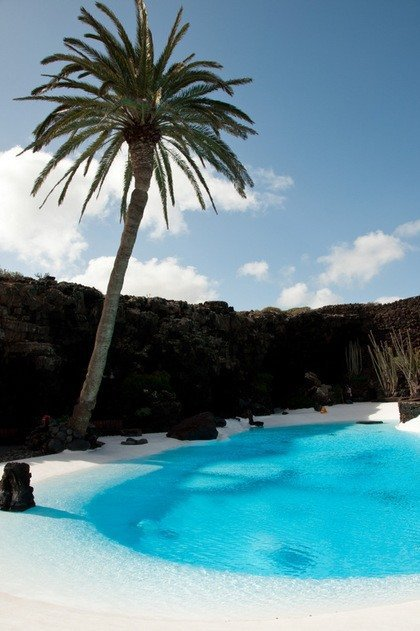 The Pool at Jameos del Agua