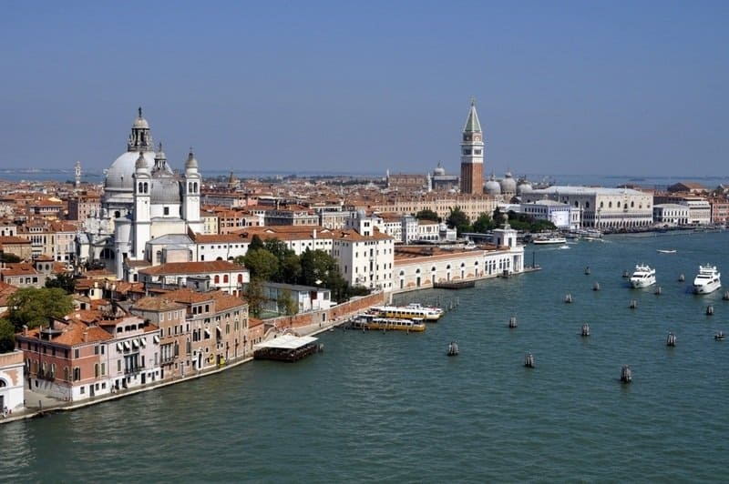 Venice View from a Cruise Ship