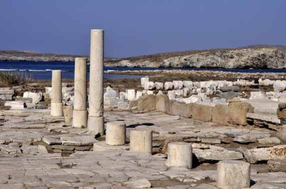 Collonade on Delos