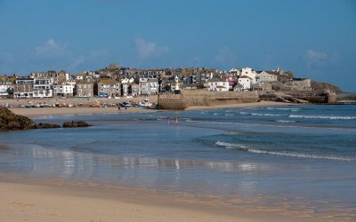 St Ives, Cornwall – Beaches, Boats and The Old Green Door