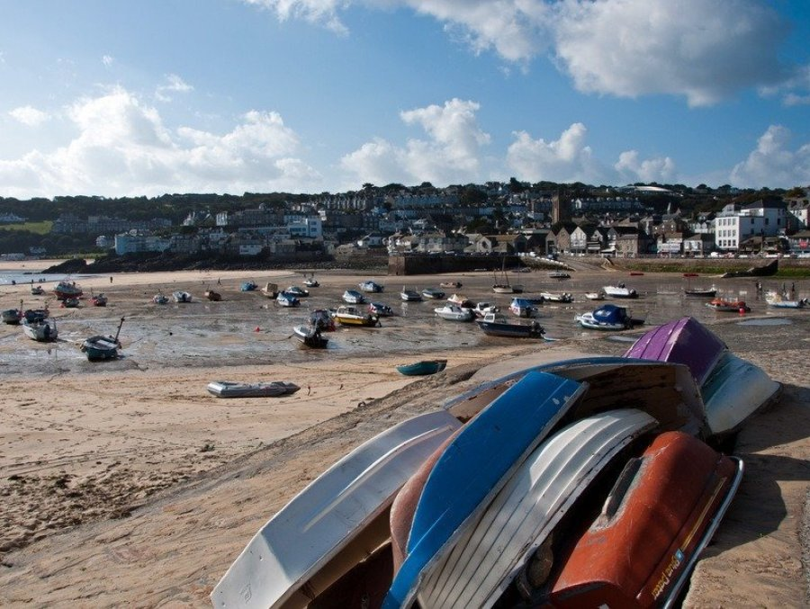 Boats at St Ives Harbour