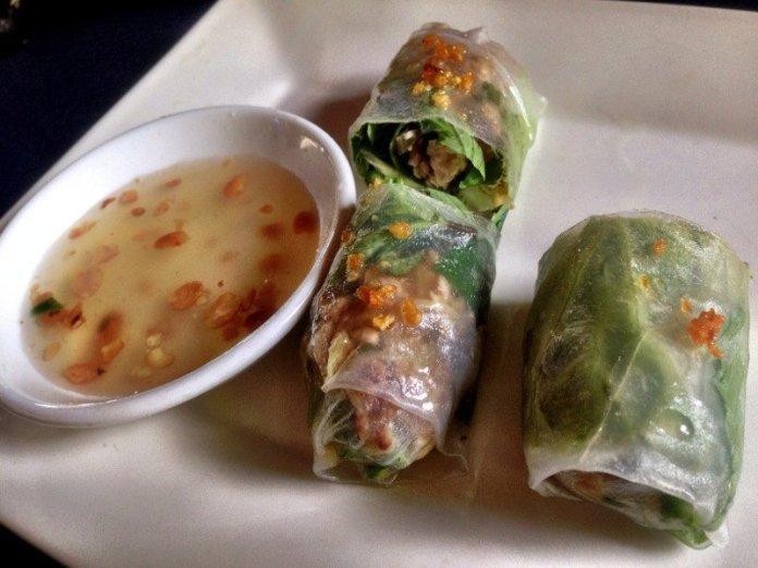 Ricepaper Spring Rolls