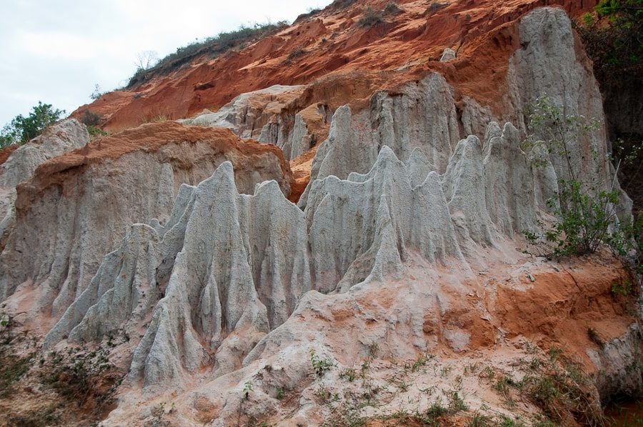 Rock formations at the fairy spring