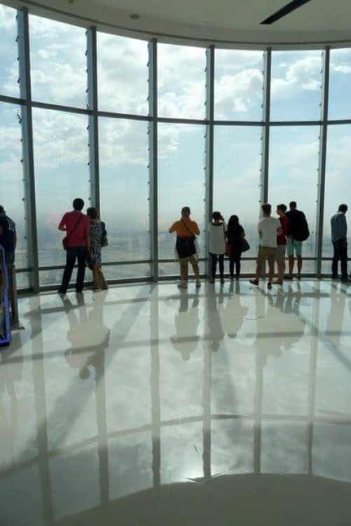 The Burj Khalifa Observation Deck