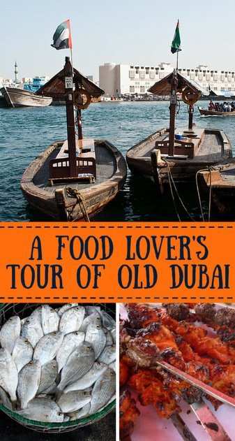 A food tour of old Dubai discovering markets, souks accompanied by fabulous food and insights of Dubai