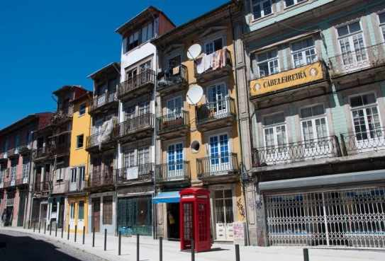 Porto telephone box
