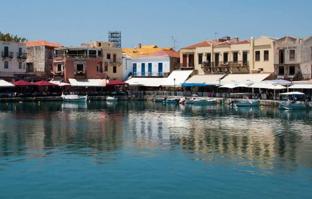 The Old Harbour, Rethymno