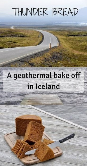 A geothermal bake off in Iceland