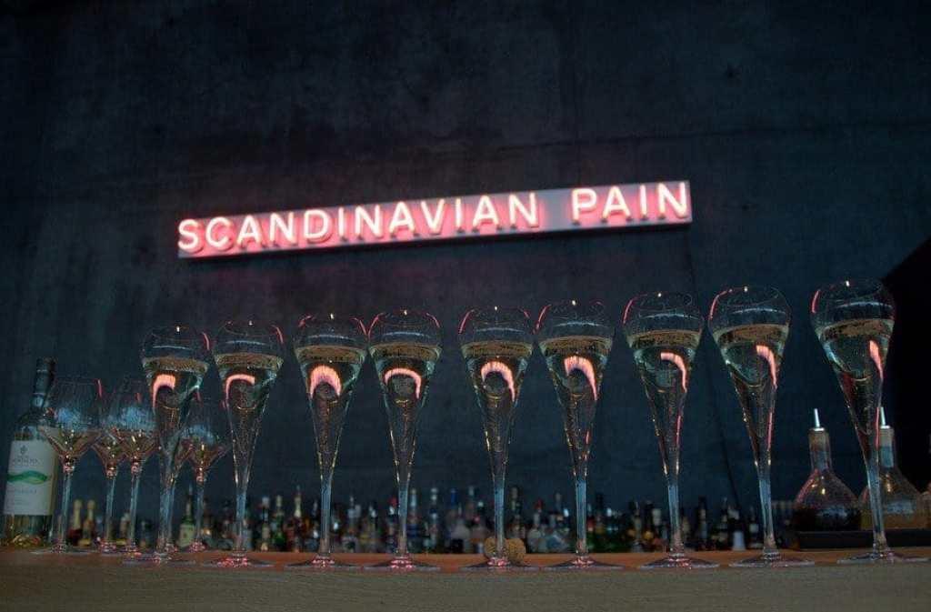 Scandinavian Pain Installation, Harpa, Reykjavik