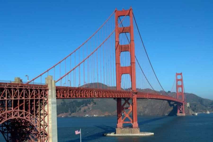 Golden Gate Bridge from Presidio