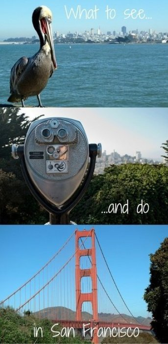 What to see and do in San Francisco - a guide to the city's top sights.