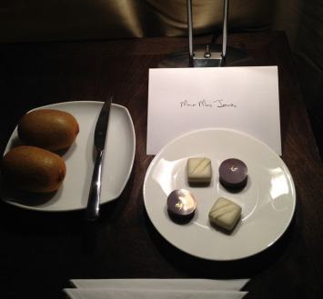 One Aldwych Welcome Chocolates
