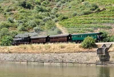 A Douro Valley Steam Train Journey
